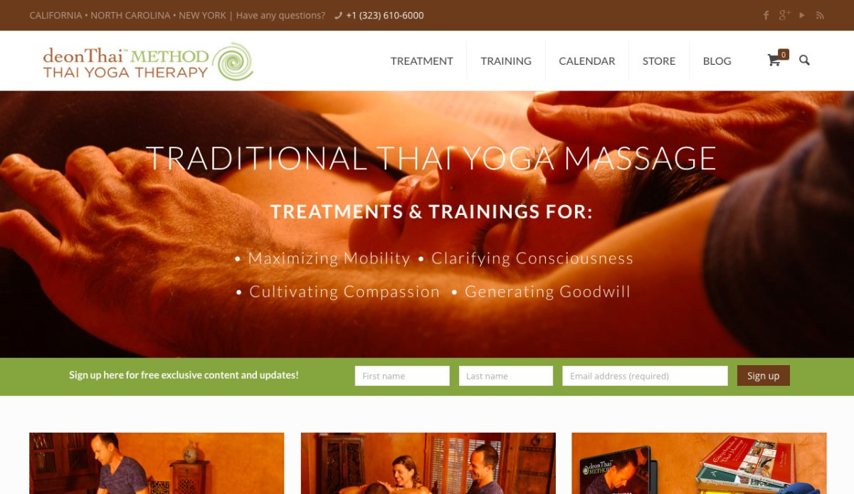 deonThai METHOD™ Thai Yoga Therapy