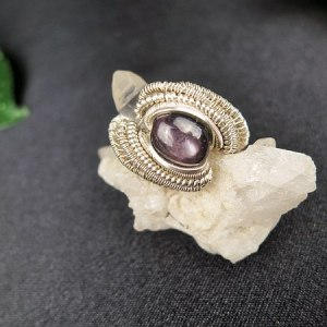 Starruby-Ring Silverring Exclusivejewelry