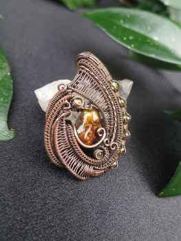 Fireagate-Medaillon exclusivejewelry SunayLaLuna
