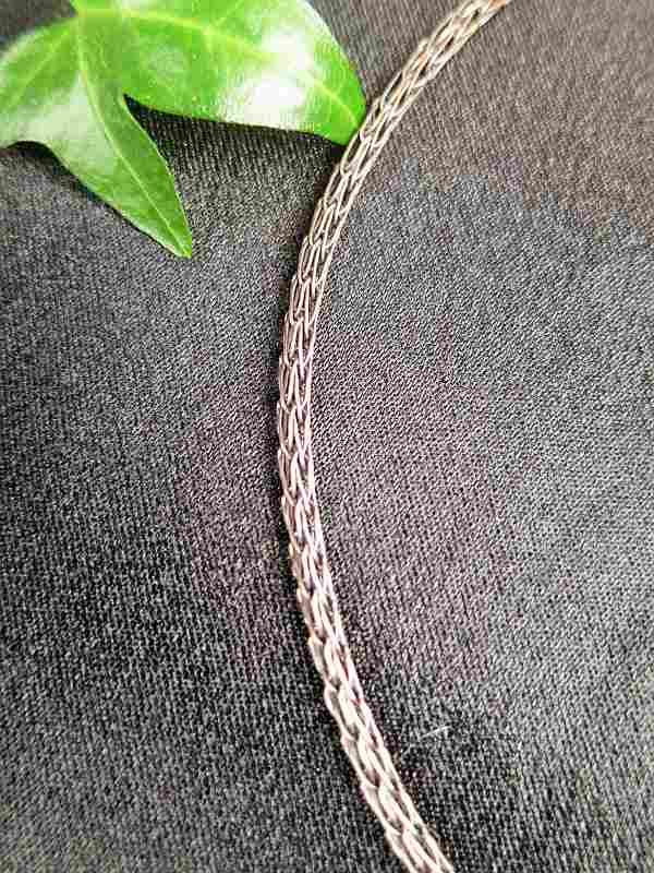 Kupferkette Wikingertechnik SunayLaLuna