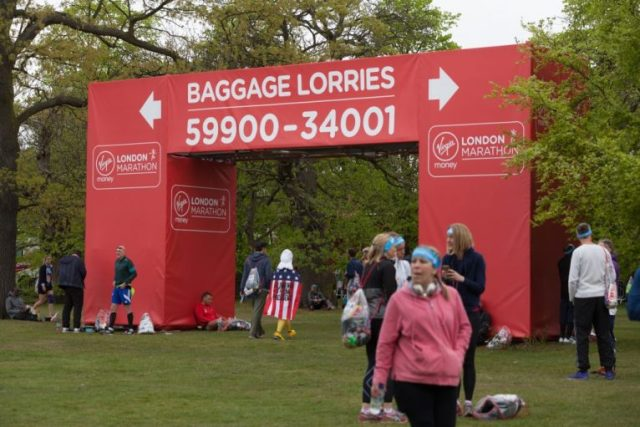 gantries and event signage