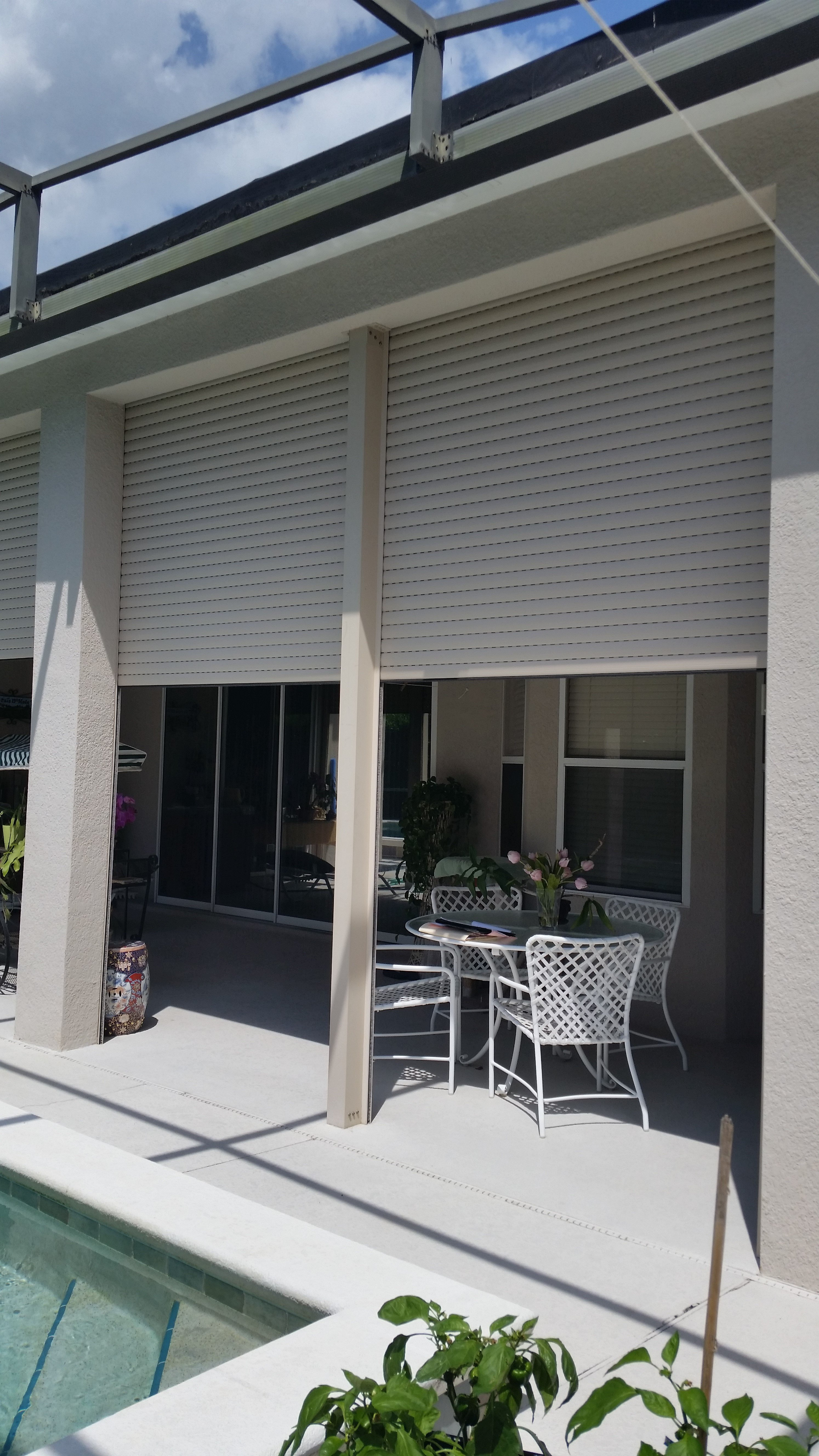 Roll Down Shutters Orlando Fl Sun Barrier Products