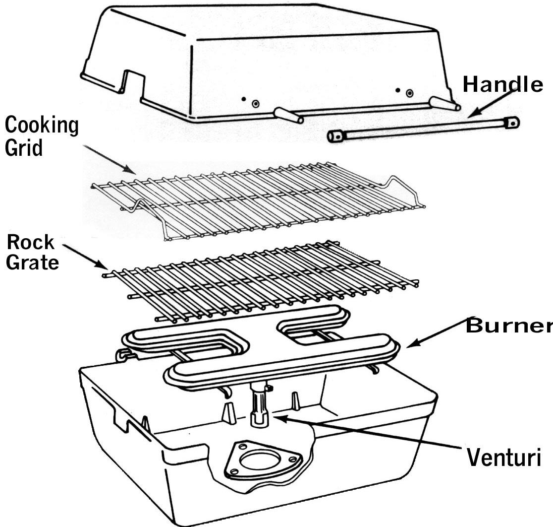 Sunbeam Grill Parts