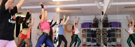 fun fitness classes at sunberry fitness in richmond/vancouver
