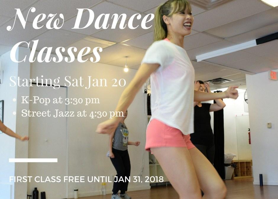Introducing Dance Classes! Bonus – Extended Workshop Sale