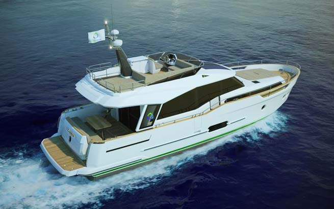 GreenLine Hybrid 48 For Sale Hybrid Solar Powered
