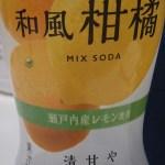 和風柑橘MIXSODA レビュー