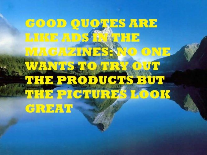Quote about Quotes