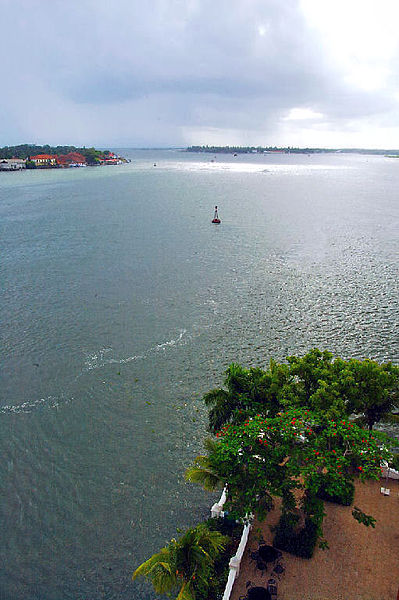 View of the Buoy as seen from Malabar Hotel