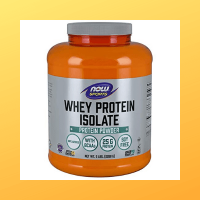 now sports nutrition whey isolate