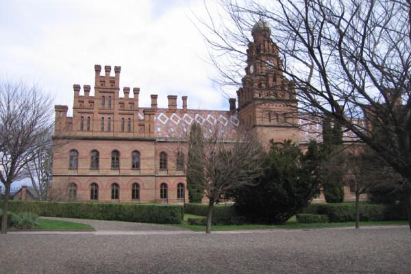 Chernivtsi-University (former Bishops Residence)