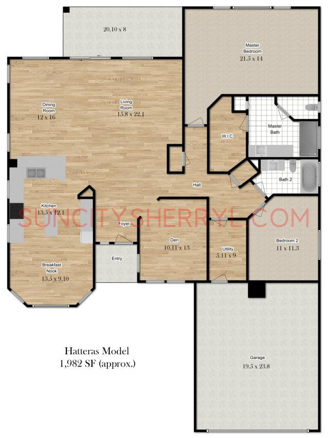 Sun City Hilton Head Floor Plan Hatteras Bluffton Sc Del Webb Homes Plans on centex homes bluffton sc, berkeley hall bluffton sc, hampton lake bluffton sc,