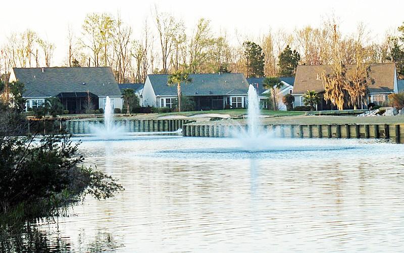 17th Hole Fountains