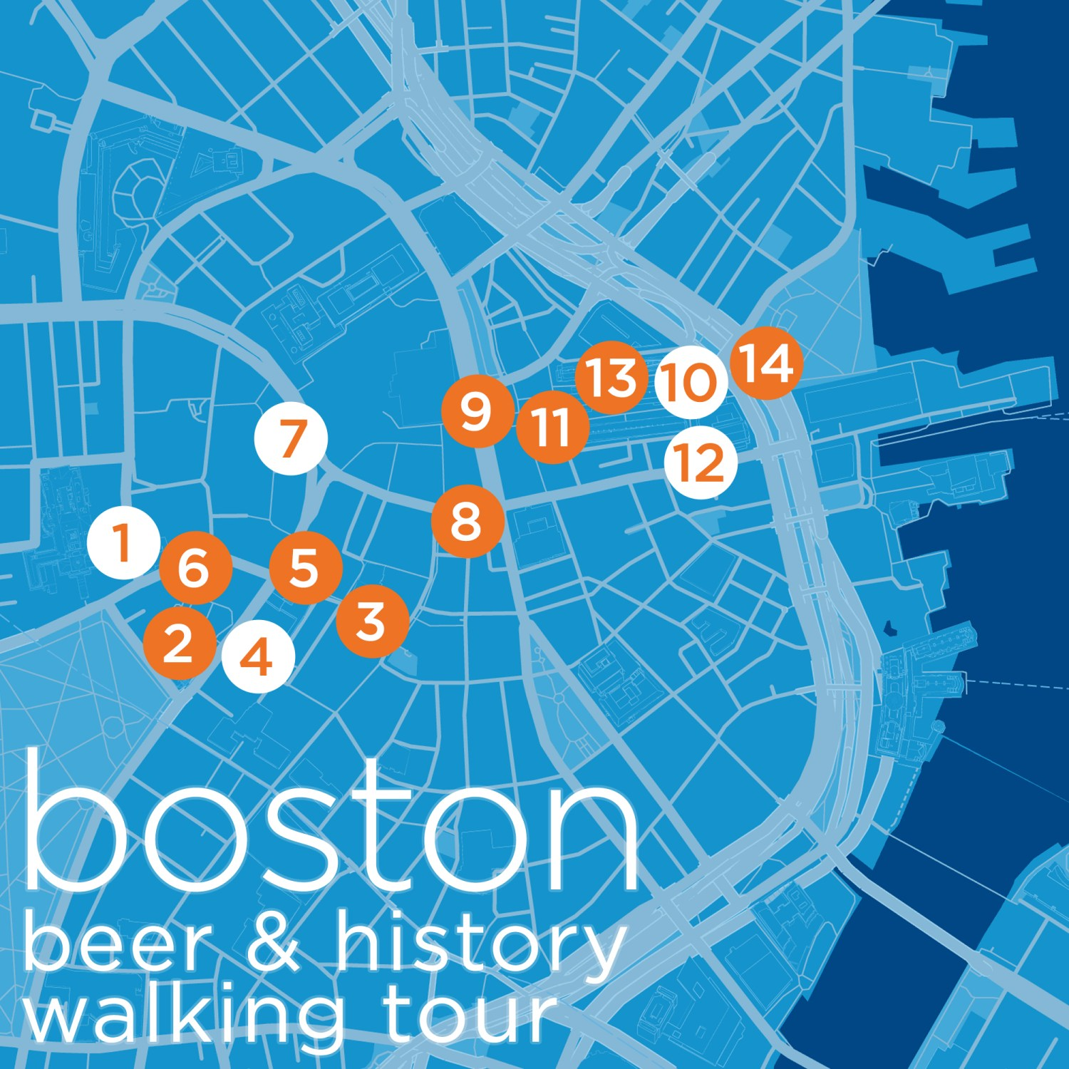 Boston Low-Key Watering Holes/History Tour [Map]
