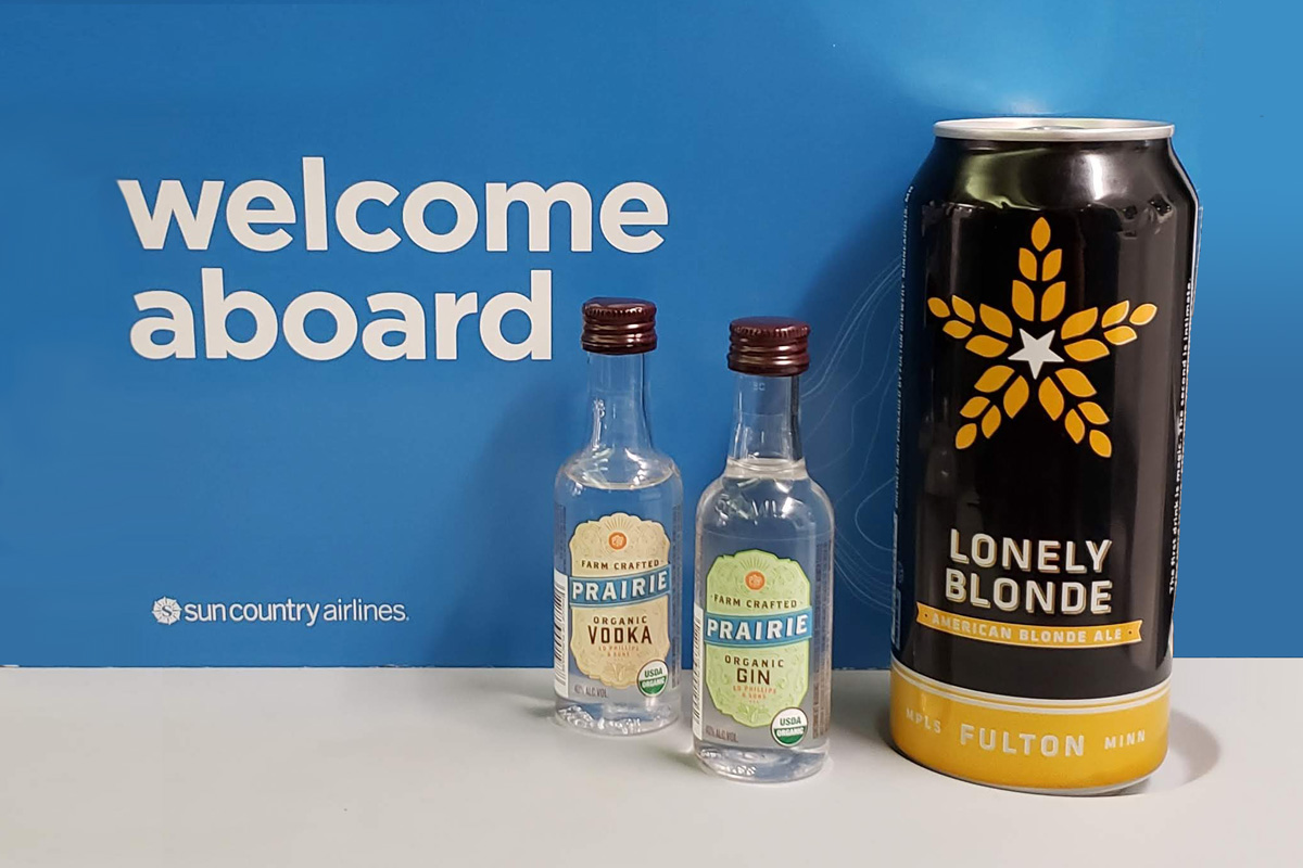 Double Cheers: Fulton Beer & Prairie® Organic Spirits Now Available In-Flight