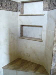Kurtz MB Shower Wall-Bench