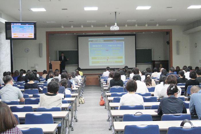 <1学年講演会の様子>