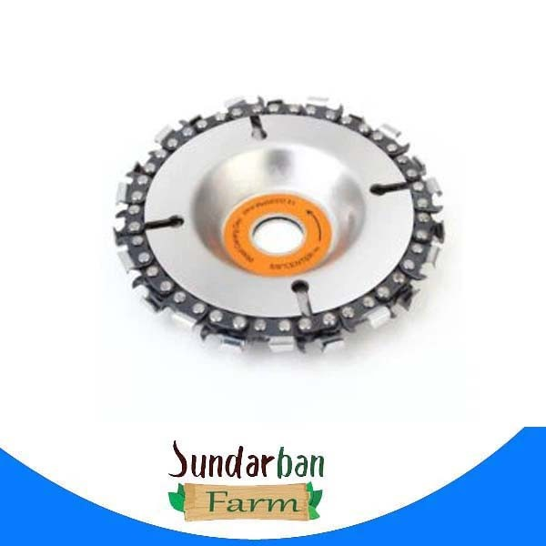 5-inch angle grinder grinder disc chain,wood slotted saw blade,4-inch chain plate,cutting blade cutting angle grinding wood too