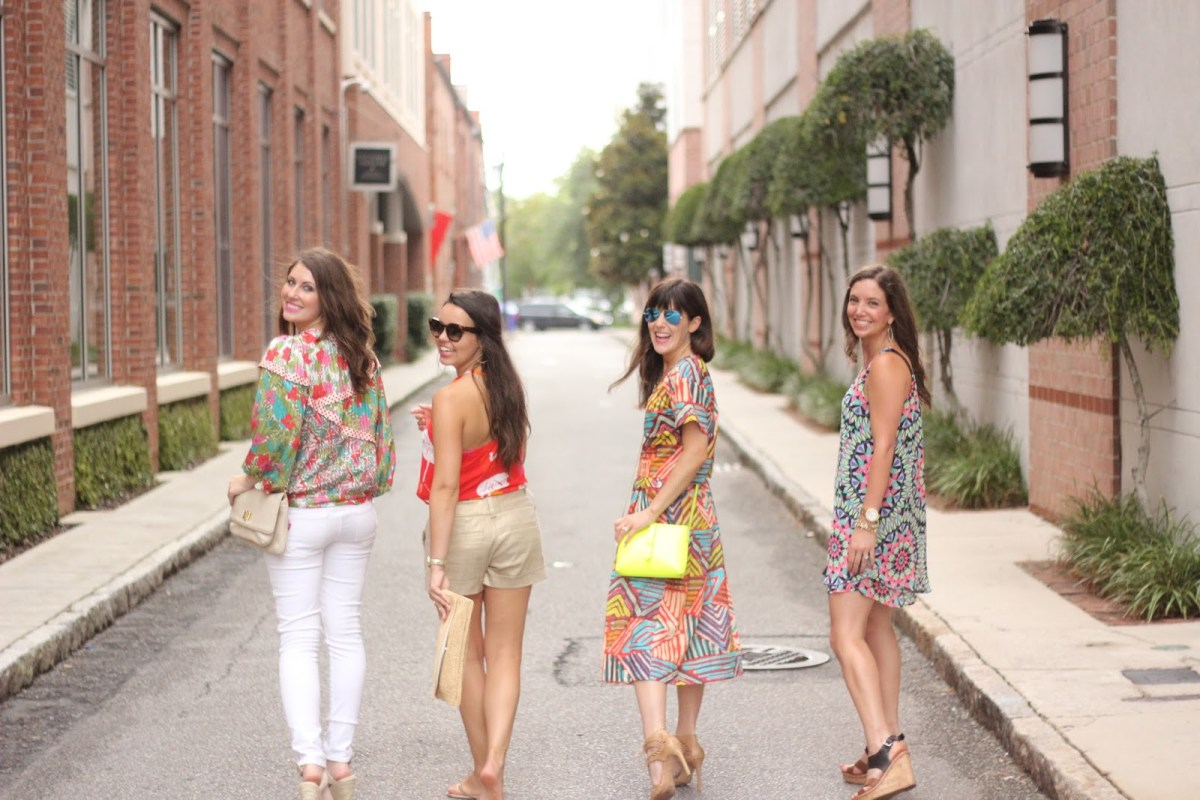 Texas Bloggers Take Charleston