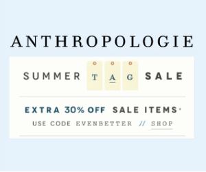 Anthropologie July 4th Sale