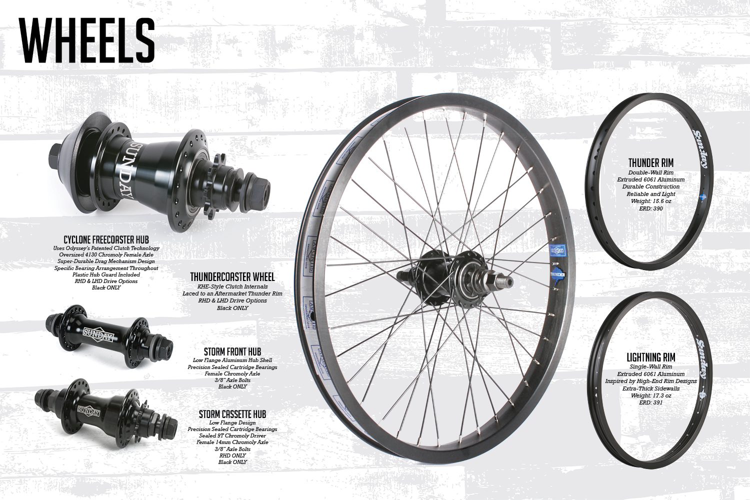 Bicycle Front Wheel Parts