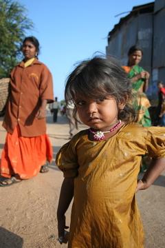 Little Girl - Hampi