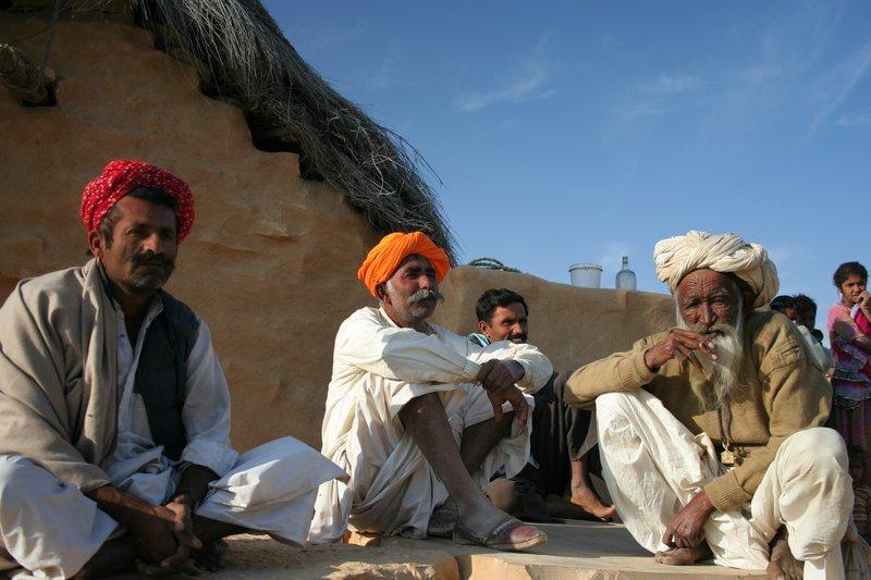 Desert men