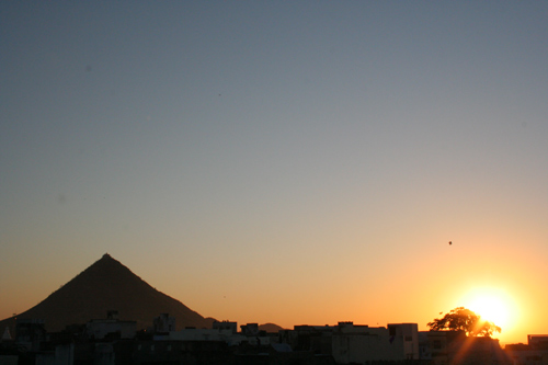 Sunset Pushkar