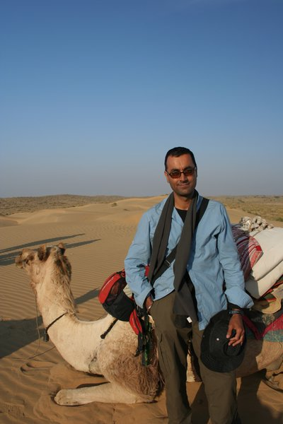 Ship of the desert, and a camel