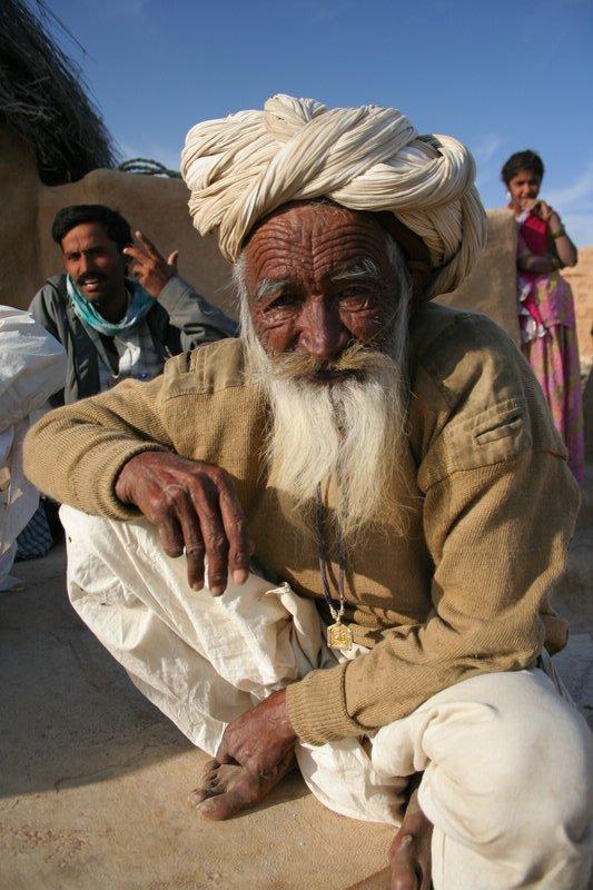 Old man of the desert