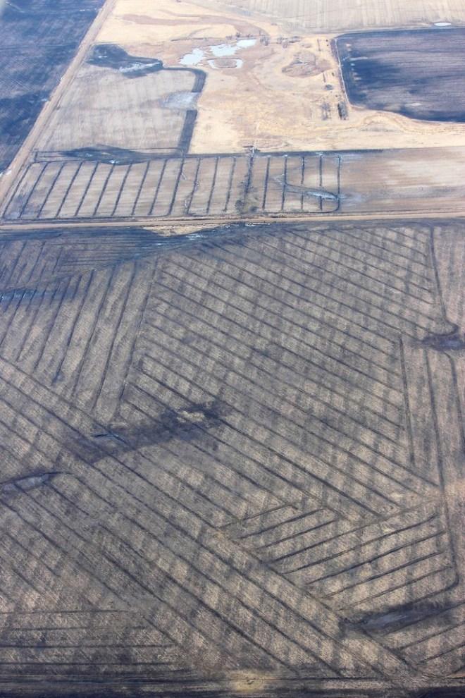 Aerial Drainage