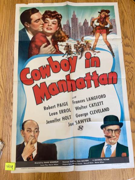 Movie Poster Auction #3 - 100 of 195