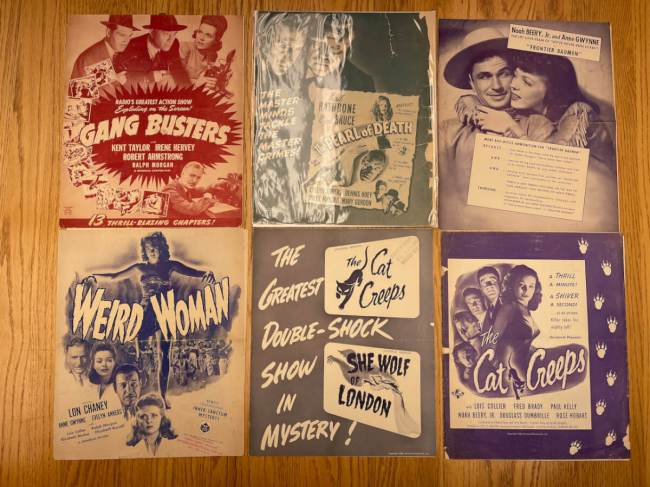 Movie Poster Auction #3 - 12 of 195