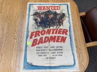 Movie Poster Auction #3 - 129 of 195