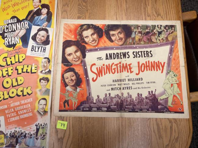 Movie Poster Auction #3 - 134 of 195