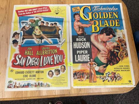 Movie Poster Auction #3 - 136 of 195