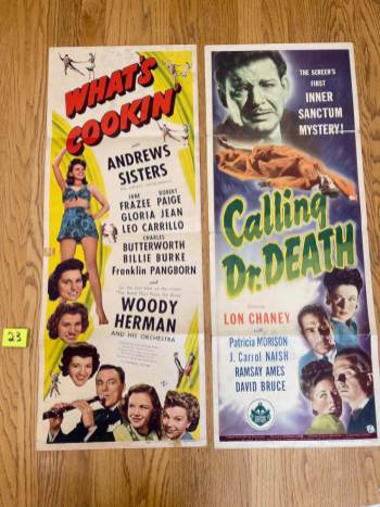 Movie Poster Auction #3 - 28 of 195