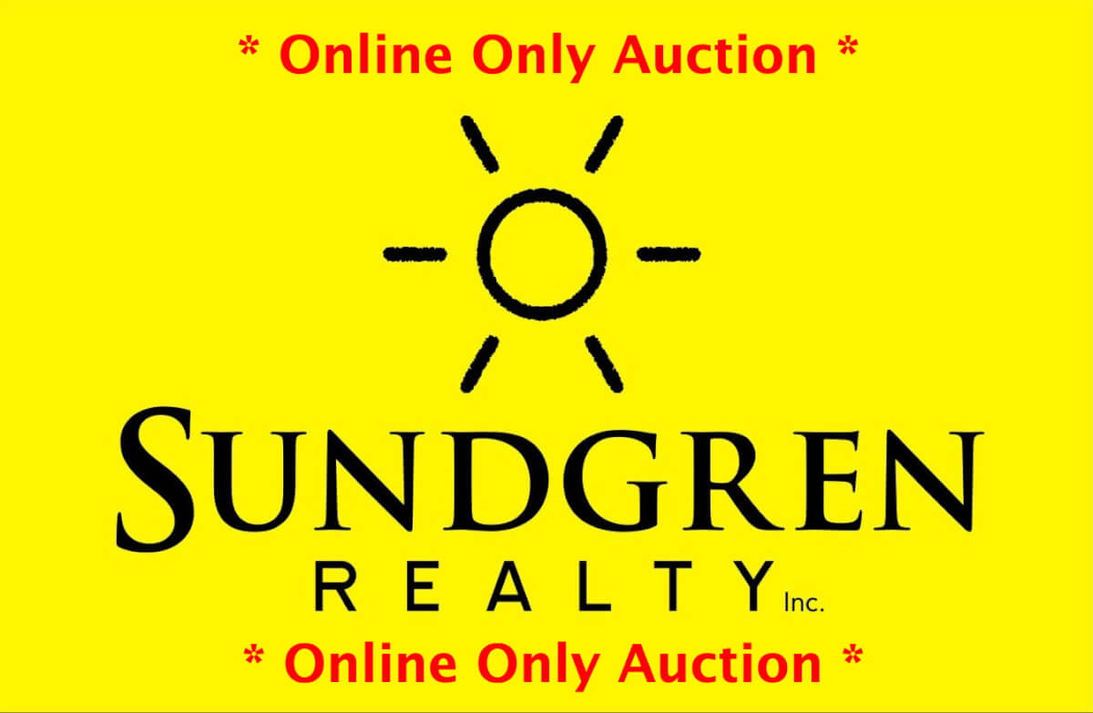 online only auction Sundgren Yellow Logo