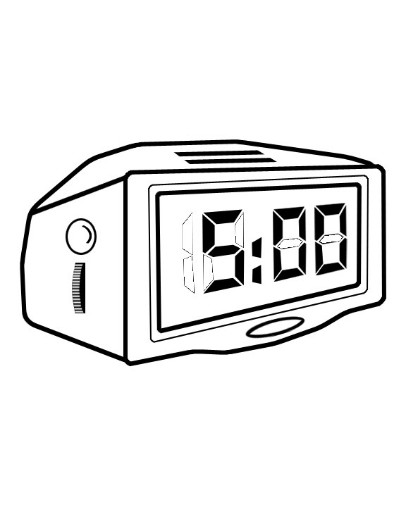 kids pages time clock coloring pages and worksheets