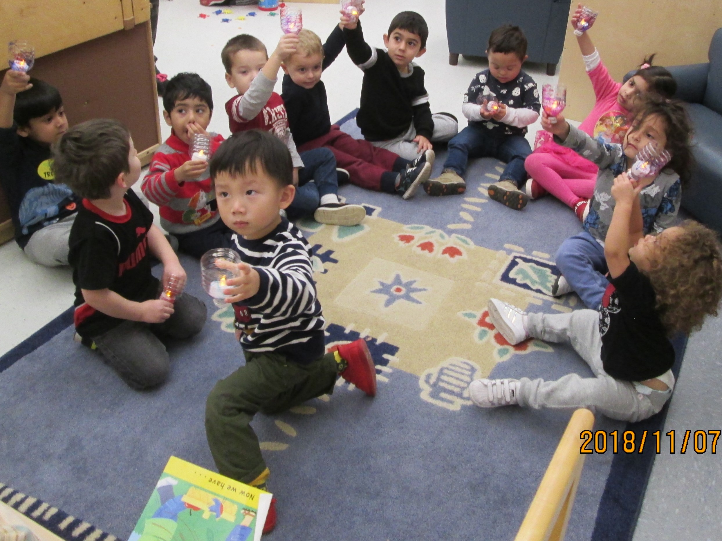 Talbot Trail Preschool Children Celebrate Diwali