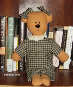 Honey Bear two bows