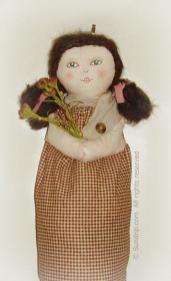 Handmade Recycle Plastic Bag Holder Doll 2