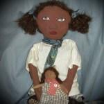 Mariah African American Rag Doll - SOLD