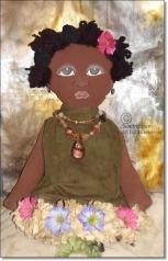 African American Bag Doll