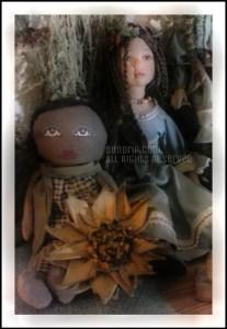 Priscilla and Sunflower