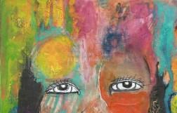 Chrystal detail eyes - NOT FOR SALE