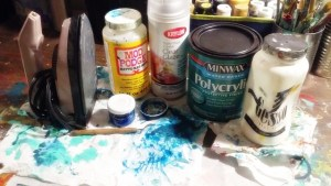 DIY Encaustic Art Tools
