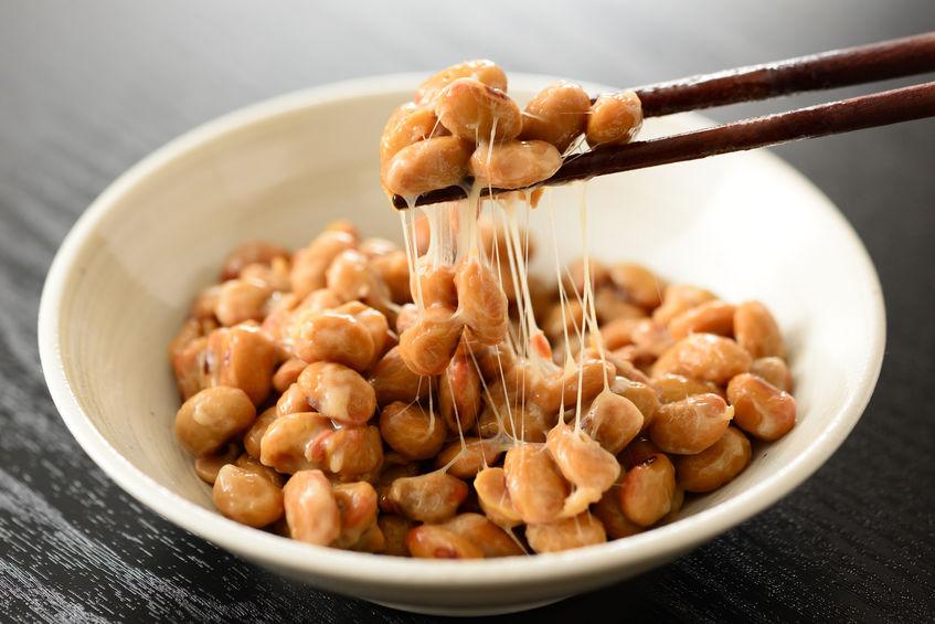 Natto als voedingsbron van probiotica