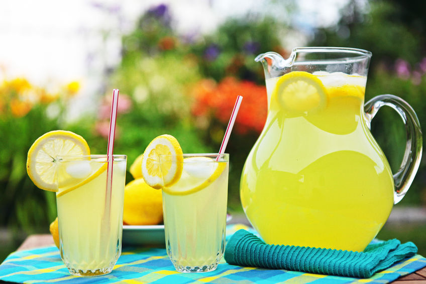 limonade om te hydrateren