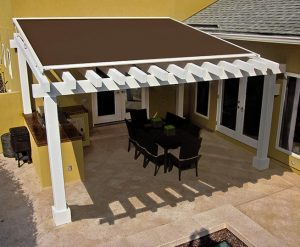 what is a pergola with a roof called
